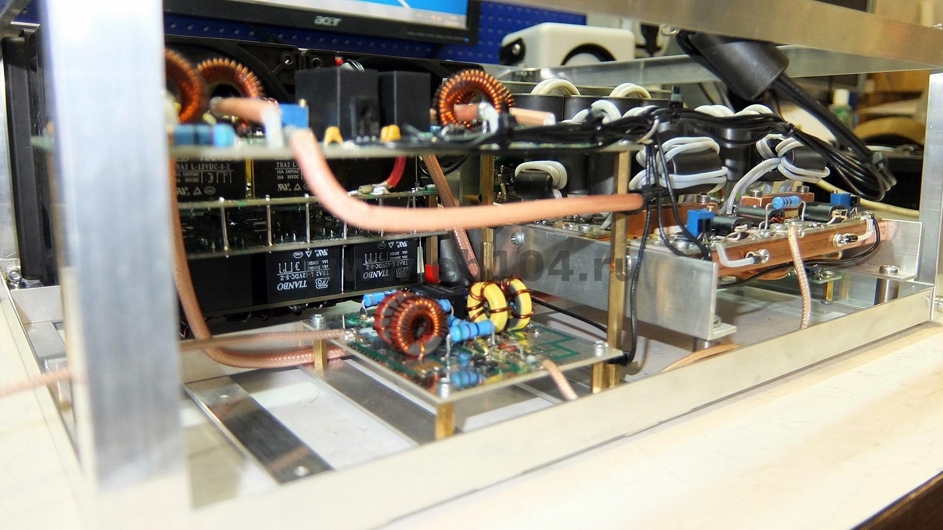 Dual 3000W Pep Ldmos Rf Amplifier - Swdigital