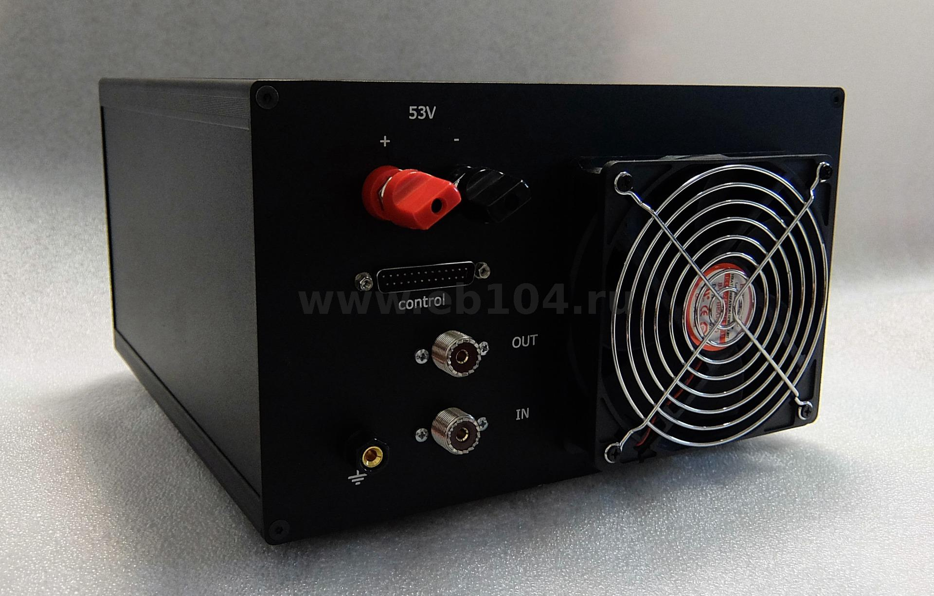 HF/6m power amplifier water cooling 1200W (MRF1K50H) with