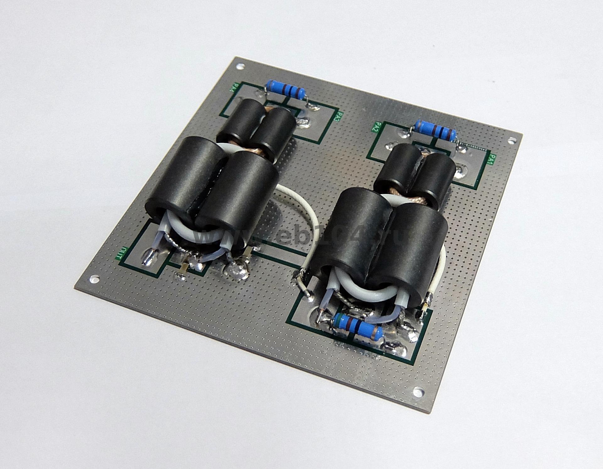 6KW 2-port SPLITTER//COMBINER OM Power amplifier LDMOS 6000W